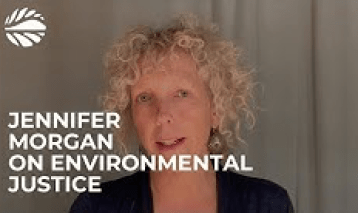 Jennifer Morgan on environmental justice