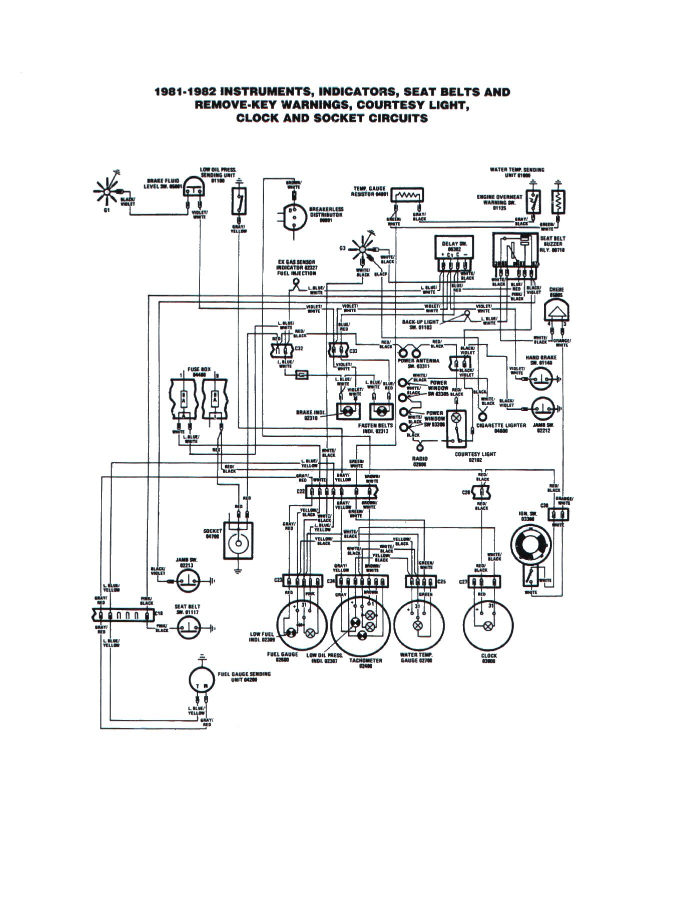 1979 fiat spider ignition wiring diagrams