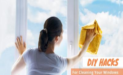 DIY Hacks for Cleaning Your Windows