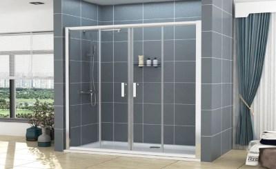 Double Sliding Shower Door