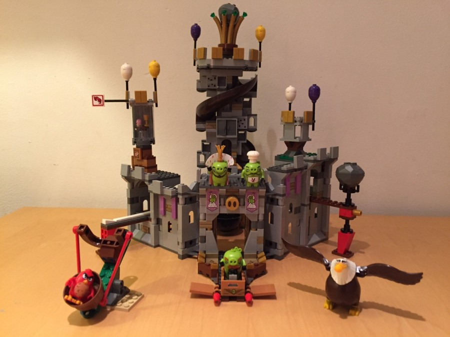 We Like To Buildlego Angry Birds King Pigs Castle Set 75826