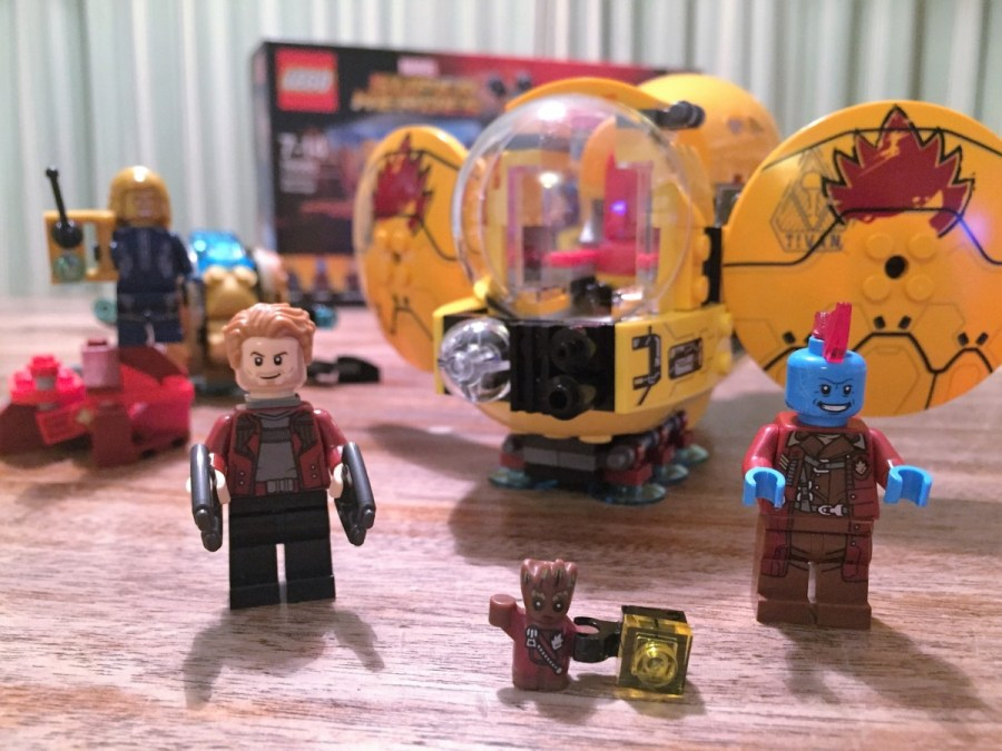 We like to build    LEGO Guardians of the Galaxy Vol 2 sets