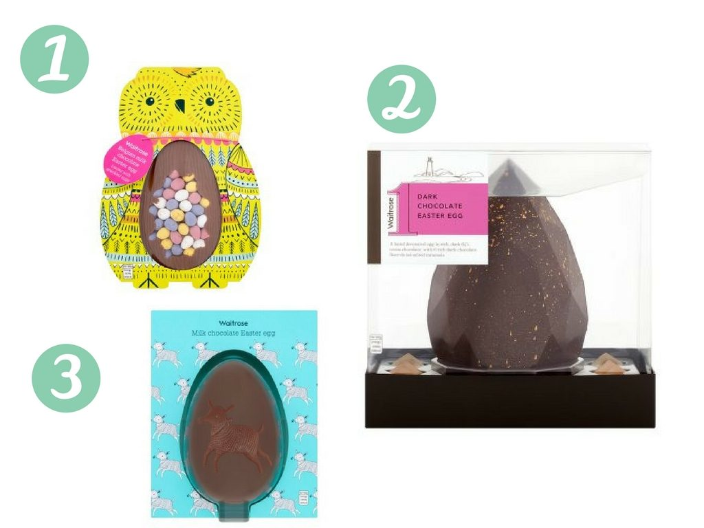 The top ten best easter eggs for kids and for adults too for 2018 this simple milk chocolate egg with a leaping lamb design 3 is perfect for little ones waitrose milk chocolate easter egg 5 negle Image collections