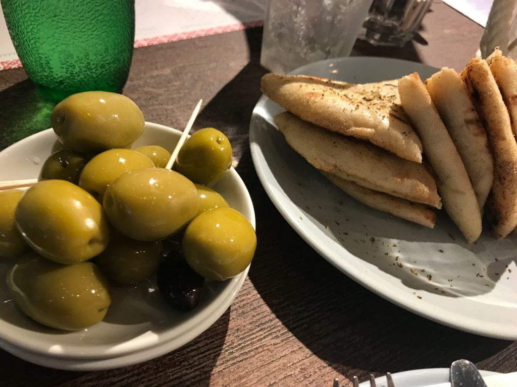 A wonderful family meal at The Real Greek, Bristol