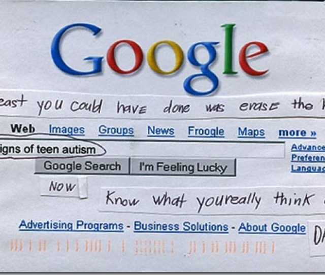 Post Secret Postcard Made Of The Google Home Page Showing A Search For