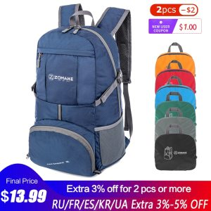 Portable Folding Unisex Backpack Outdoor