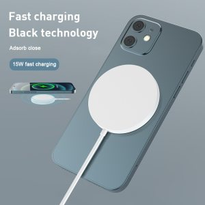 15W Magnetic Wireless Charger Wireless Mobile Phone Charging Pad For iPhone Xiaomi Charger Accessories Fast Charge Phone Charger