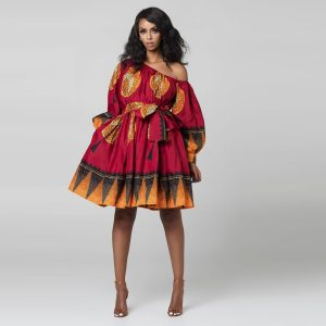 African Cute Dresses for Women Traditional