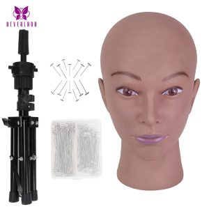 African Mannequin Head for Wig Making