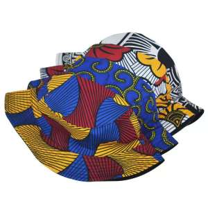 African style fabric print Summer New Bucket Hats