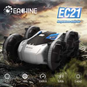 Eachine EC21 2 in 1 Amphibious RC Drift Car with RC Boat mode 1/20 4WD 2.4G Remote Control Autos Toys For Adults And Boys Kids