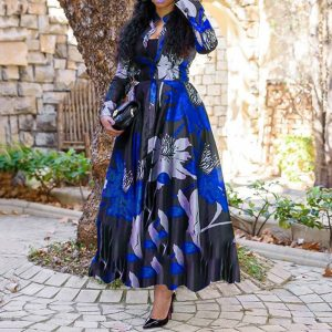 2021 New African Print Dresses For Women