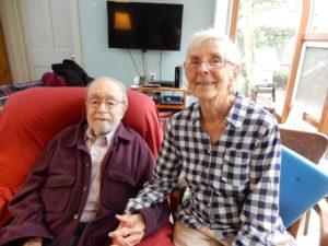 Bob and his wife Agatha Laponte
