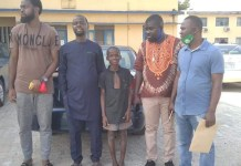 11 Year Old Boy Who Wore Police Uniform In Edo State During Protest Released By Police