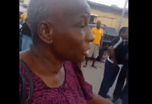 Area commander and PA to Desmond Elliot visit Ojahbee's mother to apologise after being assaulted by policemen