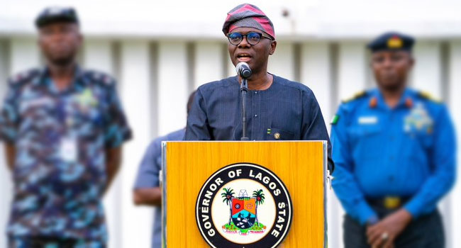 Babajide Sanwo-olu admitted that Nigerian Military officers ordered the shooting at Lekki