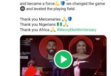 Big Brother Naija Season 4 Winner Mercy Eke Celebrates 1st Anniversary Of Winning Pepper Dem Edition