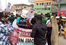 ENDSARS Protest In Owerri, Imo State