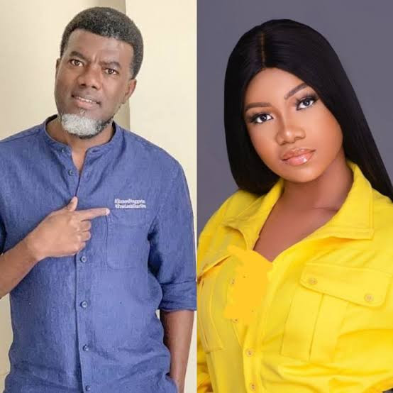Ex bbnaija Tacha condemned By Reno Omokri For Referring To One Of Her Critics As A Lazy Nigerian Youth