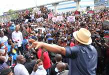 Governor Wike Makes A Turn Back And Addresses EndSARS Protesters In Port Harcourt-Video
