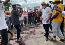 Human Rights Activists Aisha Yesufu, Omoyele Sowore, Deji Adeyanju, Raphael Adedayo And Others Leads EndSARS Protest In Abuja-Watch video