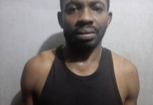 Lagos State Police Arrests Officer Eze Aiwansone Who Shot His Girlfriend In The Mouth