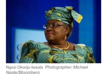 Ngozi Okonjo Iweala Backed By European Union For WTO Job.