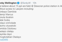 Nigerian Singer Turned Politician, Banky W Has Haised An Alarm Of Young #EndSARS Protesters Being Arrested Without Access To lawyers