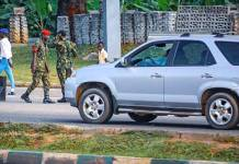 Nigerian Soldiers Takes Over Streets Of Abuja