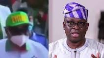 Thugs Removes Ayo Fayose's Cap And Threaten To Beat Him Up In PDP Mega Rally In Ondo State-Watch Video