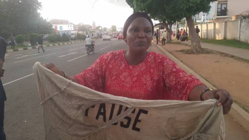 Video Of A Woman Mrs Victoria Agori Narrating How How IGP Team Killed Her Son And Inserted Gun In Her Private Part