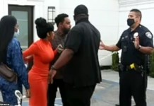Video Of Cardi B Confronting Police Officers At Offset Arrest Scene