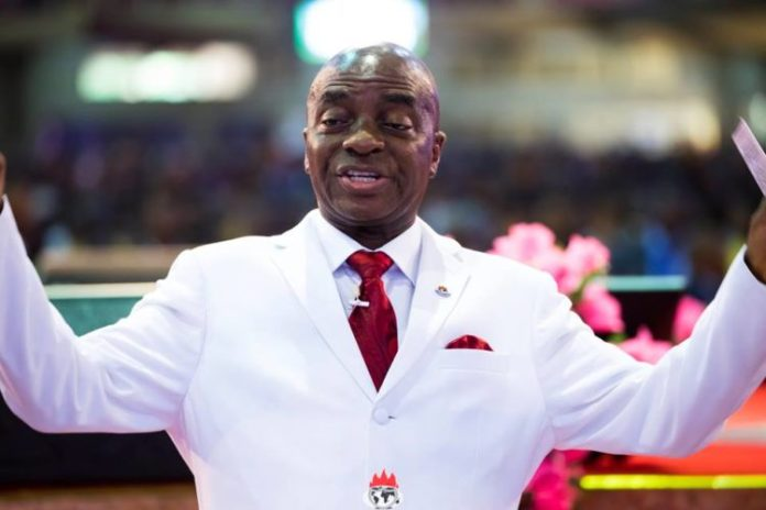 Video Of David Oyedepo Supporting EndSARS Protest In Church Service