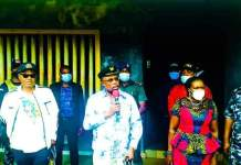 Video Of Governor Obiano Visiting SARS Offices In Anambra And Frees Detainees