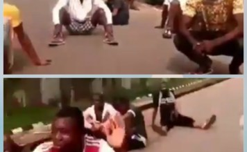 Video Of Looters Begging Soldiers To Let Them Loot Peacefully