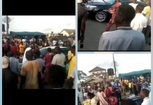 Video Of Oba Of Epe Sent Back Home As Protesters Block His Convoy