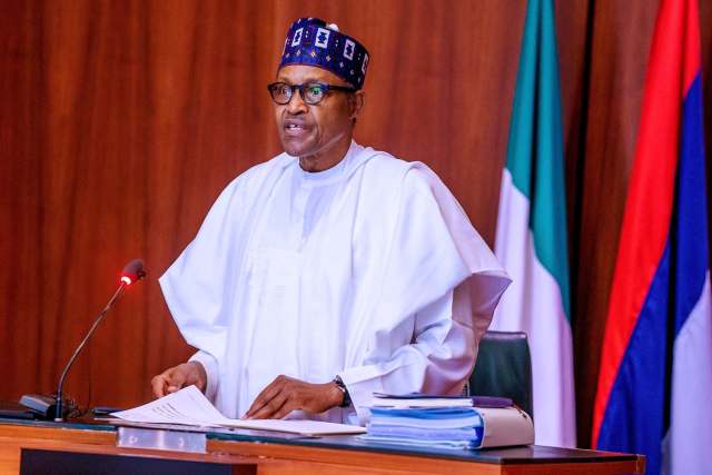 Video Of President Buhari Addressing Nigerians On EndSARS Protests