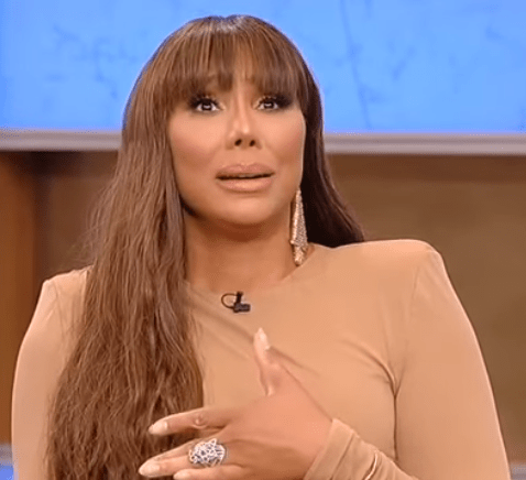Video Of Tamar Braxton responding to the allegations that she abused her ex-boyfriend David Adefeso physically
