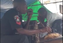 Video Of Two Police Officers Caught Smoking Weed While In Uniform