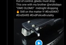 Video Of Wizkid Blasting Reekado Banks For Posting 'Omo Olomo' Song Amid EndSARS