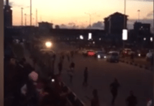 Video of Nigerian army shooting at endsars protesters