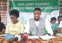 ABSU Students Tells Governor Ikpeazu - Reduce Our School Fees And We Don't Need The N30k Cash