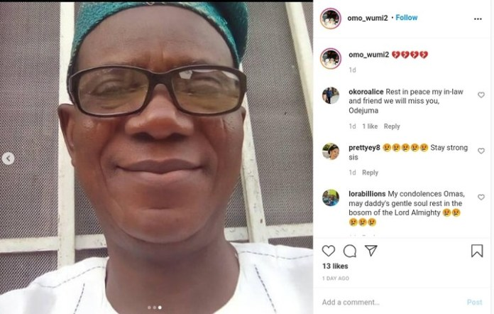 Big Brother Naija star Omashola Oburoh Cries As His Father Dies