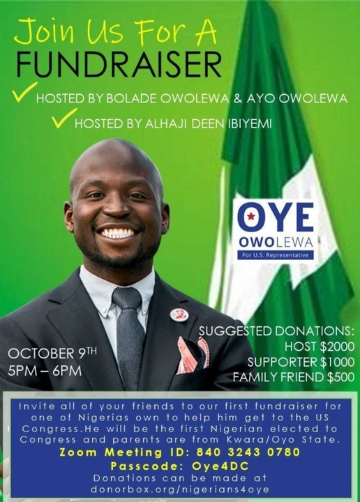 First Nigerian American Man Oye Owolewa Elected Into US Congress To Represent Washington DC