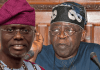 Former Lagos State Governor Bola Tinubu Reacts To Sanwo-Olu's Move To Cancel Pension For Ex Governors And Deputies
