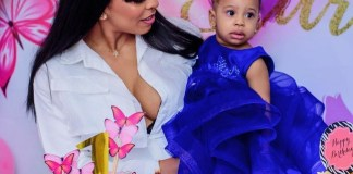 Former bbnaija Star TBoss Celebrates Her Daughter Starr's Conception Day