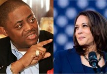 Former minister of aviation Femi Fani-Kayode says US vice president elect Kamala Harris is Jezebel