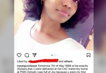 Gospel Singer Tope Alabi's First Daughter Ayomikun Claimed By Another Man