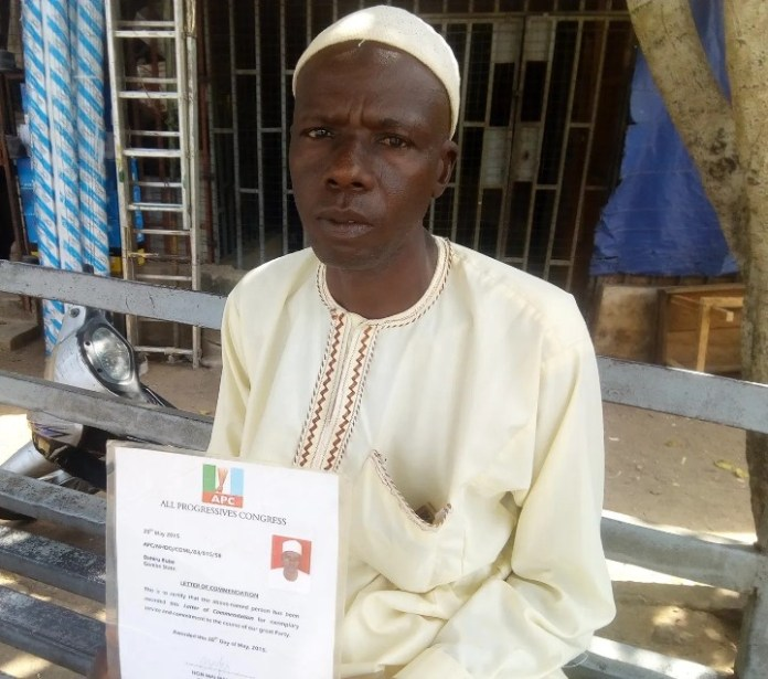Man Dahiru Buba Who Trekked For Buhari In 2015 Seeks Assistance For Limb Pains