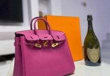 Nigerian actress And Producer Lilian Afegbai Buys Birkin Bag Worth $22K & Encourages Her Followers